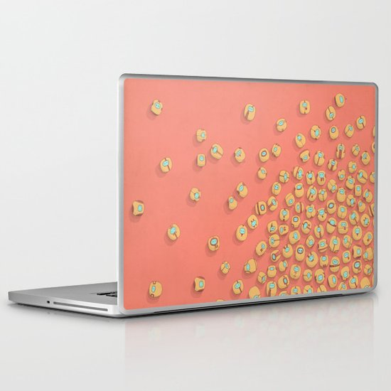 microrobots Laptop & iPad Skin