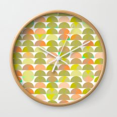 Geometric Juice Wall Clock