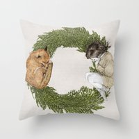 The Letter O Throw Pillow