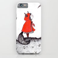 iPhone & iPod Case featuring Red Riding Howl by KEEKI // Ali Cattini