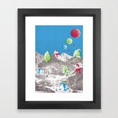 Onboard part 1 Framed Art Print
