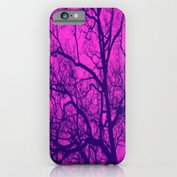 Pink And Blue Tree iPhone 6 Slim Case