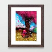Little Oni Framed Art Print