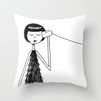 Eloise And Ramona Play T… Throw Pillow