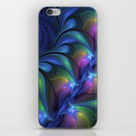 Colorful, Abstract Fract… iPhone & iPod Skin