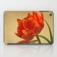 Orange Tulips iPad Case