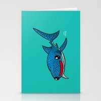 Whale Shark Stationery Cards
