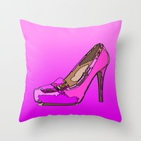 Weekend In Pink Throw Pillow