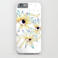 iPhone & iPod Case featuring Ruptured Sun by Mikah Washed