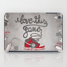 i love this game iPad Case