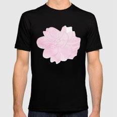 Gardenia SMALL Black Mens Fitted Tee