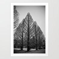 Winter Session Art Print