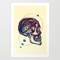 Death Mind Art Print