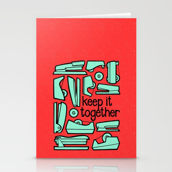 keep it together Stationery Card