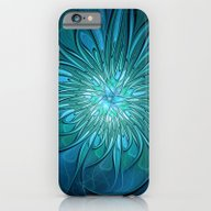 Flourish Blue, Abstract … iPhone 6 Slim Case