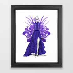 + SAAB + Framed Art Print