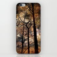 iPhone & iPod Skin featuring Sheltering Sky by Spoken In Red