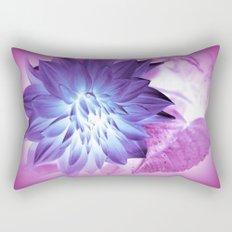 Purple Flower X-Ray Rectangular Pillow