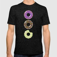 Heaven (Better Known As … Mens Fitted Tee Tri-Black SMALL