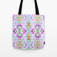 Wildflower kaleidoscope Tote Bag