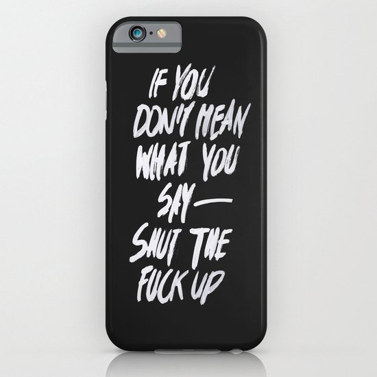 Mean iPhone & iPod Case