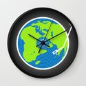 Music Makes The World Go Round Wall Clock