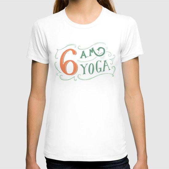6AM Yoga T-shirt
