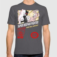 Super Despair Fighter Mens Fitted Tee Asphalt SMALL