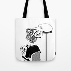 Octopus Salon Tote Bag
