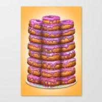Donuts II 'Bon Appetit H… Canvas Print