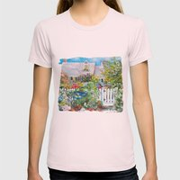 Summer In Kennebunkport Womens Fitted Tee Light Pink SMALL