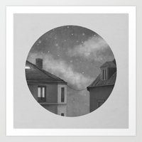 Rooftoppers - Chapter 17… Art Print