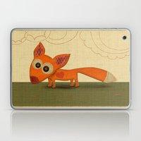 Cute Fox Laptop & iPad Skin
