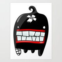 MONSTER 2 Art Print