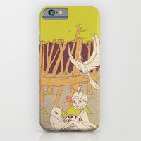 iPhone & iPod Case featuring Caelum and the Lost Ones by Derek Eads