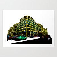 Berlin City Art Print
