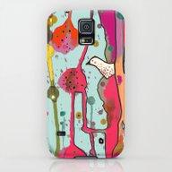 Une Chanson Galaxy S5 Slim Case