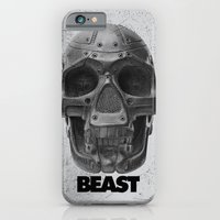 iPhone & iPod Case featuring RoboSkull by Beast Syndicate