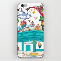 Kawaii Universe Studio L… iPhone & iPod Skin