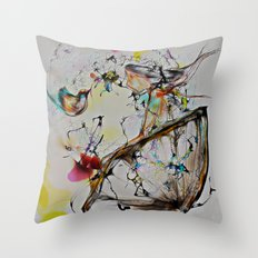 Cool Sketch 162 Throw Pillow