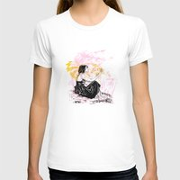 Departure Womens Fitted Tee White SMALL
