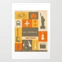 All The Feels Art Print