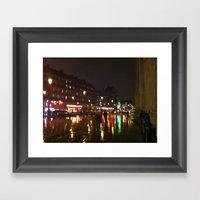 Paris: City Street 2 Framed Art Print