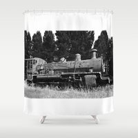 End Of The Line. Shower Curtain