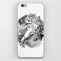 Sea Ocean Animals Art Design iPhone & iPod Skin