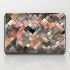 Watercolor patchwork (Ochre) iPad Case