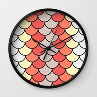 Slice of Bright Wall Clock