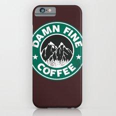 Damn Fine Coffee Slim Case iPhone 6s