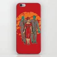 Walking MadMen iPhone & iPod Skin
