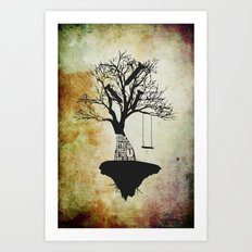 When The Wind Blows. Art Print